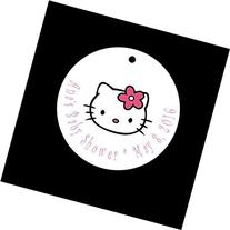 Set of 10 Hello Kitty Favor Tags/Baby Shower Party Tags -