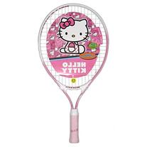 Hello Kitty Pink Junior Tennis Racquet with Happy Face