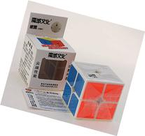 HelloCube MoYu WeiPo 2x2x2 Magic Cube White