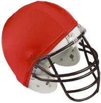 Champion Sports Football Helmet Covers Color: Red