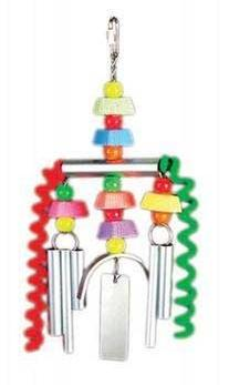 Prevue-Hendryx Chime Time Monsoon Bird Toy