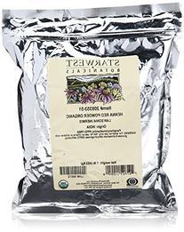 Henna Powder Red Organic - Starwest Botanicals - 1 lbs -
