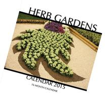 Herb Gardens Calendar 2015: 16 Month Calendar