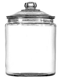 Anchor Hocking 102806 Heritage Hill Storage Jar 1 gallon