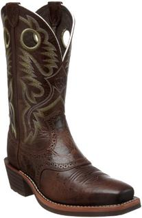 Ariat Men's Heritage Roughstock Western Cowboy Boot, Thunder