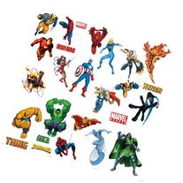 Marvel Heroes Comic - Spider-man, Captain America, Hulk,