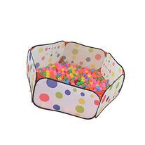 Buytra Hexagon Polka Dot Children Ball Play Pool