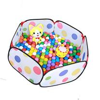 Aole-hw Hexagon Pop up Polka Dots Ball Pit Pool