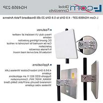 L-Com HG4958-23P - 4.9 GHz to 5.8 GHz 23 dBi Broadband Patch