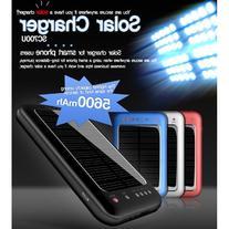 Hi Capacity Portable 5600mAh Li-Polymer Solar Battery