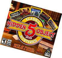 Hidden Object Classic Mysteries - 5 Game Pack