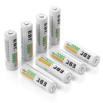 EBL 8 Pack High Capacity 2800mAh AA Ni-MH Rechargeable