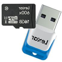 Lexar High-Performance microSDHC 600x 16GB UHS-I Mobile