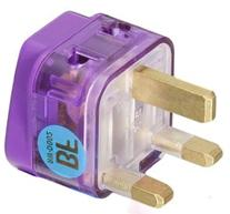 HIGH QUALITY AC POWER TRAVEL ADAPTER PLUG FOR UNITED KINGDOM