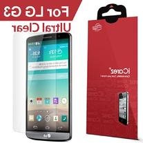 HD Clear Screen Protector for LG G3  Easy Install with