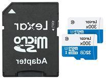 Lexar High-Performance microSDHC 300x 32GB UHS-I Flash