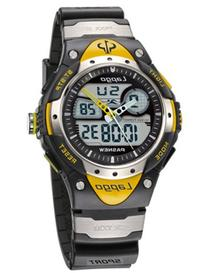 PASNEW Water-proof Dual Time Boys Girls Sport Watch N2