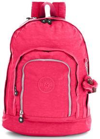 Kipling Hiker Expandable Backpack Vibrant Pink