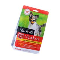 Nutri-Vet Hip and Joint Dog Treat - Natural, Grain Free size