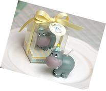 RedC Hippopotamus Craft Candles Hippo Decoration Candles
