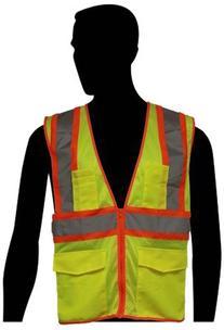 Liberty HiVizGard Polyester All Mesh Class 2 Safety Vest