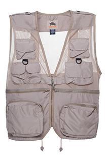 HUMVEE HMV-VC-K-L Large Nylon Combat Vest with Safety Zipper