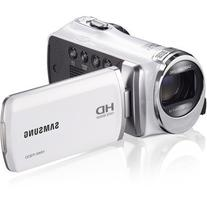 "Samsung F90 White Camcorder with 2.7"" LCD Screen and HD"