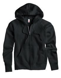 Hanes Women's Raglan Sleeves Full-Zippered Cotton Hoody -
