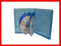 Holds 4 Discs NEW 25 Pk VIVA ELITE 4 Tray Blu-ray Multi Replacement Cases