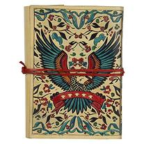 Holiday deals Handpainted Colorful Leather Journal Diary