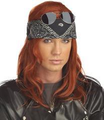 Hollywood Rocker Wig Costume Accessory