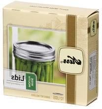 Jarden Home Brands 00088 Wide-Mouth Canning Jar Lids, 12-Pk