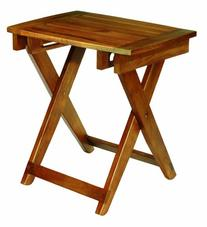 Conair Home Acacia Wood Folding Shower Seat