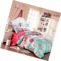 SAYM Home Bedding Sets Elegant Rural Style Print Full Size