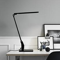 Omaker Dimmable Led Desk Lamp 5 Level Dimmer and Cold/Warm
