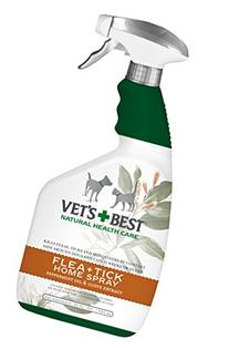 Adam's Home Flea and Tick Spray 32-fl oz bottle