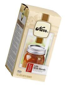 Jarden Home Brands #00071 Kerr 12PK Can Jar Lid