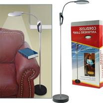 Trademark HomeT Portable Lamp Stand with LED Lights -