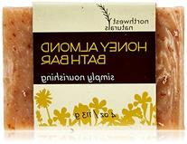 Northwest Naturals Honey Almond Bath Bar with Oatmeal, Tan,