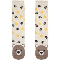 Accessorize Honey Bear Face Socks