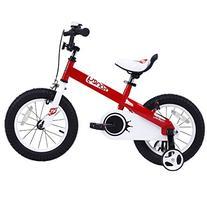"""Royalbaby Kids Honey Bike, 12"""", Red"""