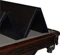 Hood Leather 471 39 x 78 In - Convertible Pool Table Cover
