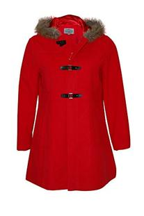 Nouvelle Women's Hooded Duffle Coat 18 Red
