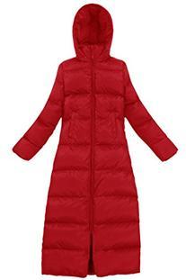 XIAOLV88 Women's Hooded Slim Warm Duck Down Coat