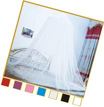 Hoop Bed Canopy Mosquito Net for Crib, Twin, Full, Queen or