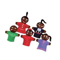 Get Ready How Am I Feeling? African American Puppets -