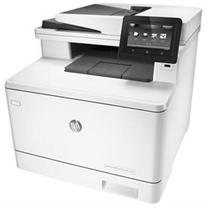 HP LaserJet Pro M477fnw Laser Multifunction Printer - Plain