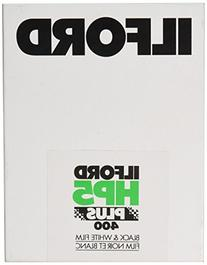 HP5 400 Plus Black and White Negative Film 4 x 5, 25 Sheets
