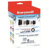 Honeywell HRFR3 Allergen Remover Replacement HEPA Filters  3