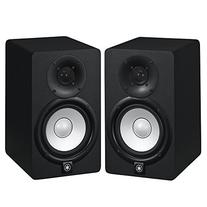 Yamaha HS5 Powered Studio Audio Monitor  with 25' XLR Cables